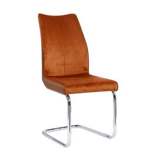 Jedálenská stolička tehlová/tehlová FARULA