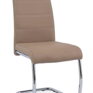 Signal Jedálenská stolička H-666 / tmavo béžová
