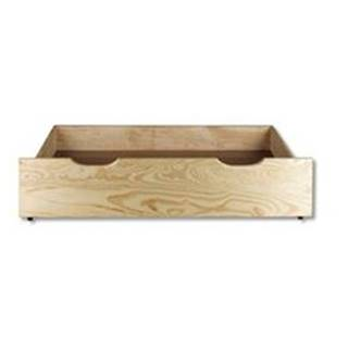 Úložný box pod posteľ - masív LK150   borovica