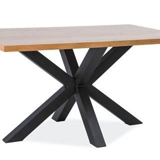 Signal Jedálenský stôl CROSS / Dubová dýha