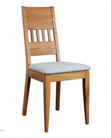 Drewmax Jedálenská stolička - masív KT375 / dub