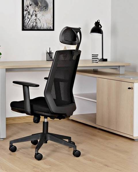 Čierna stolička ArtTrO
