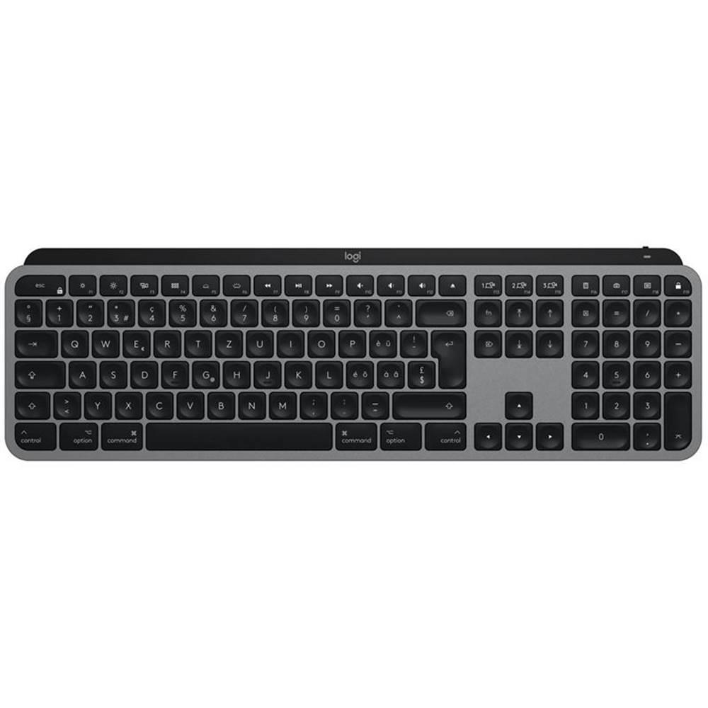 Logitech Klávesnica Logitech MX Keys for Mac, US sivá