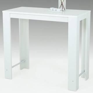 Barový stôl Frieda 120x58 cm, biely