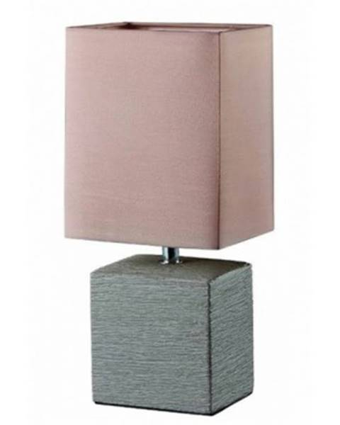Hnedá stolová lampa ASKO - NÁBYTOK