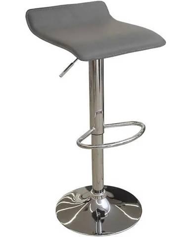 Barová stolička Kwadro sivá 7316