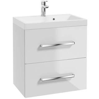 Závesná kúpeľňová skrinka Loreto D70 0D2S DSM L2420