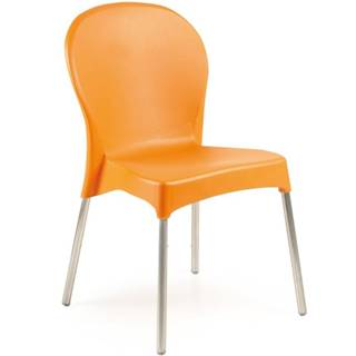 Stolička Diana oranžový