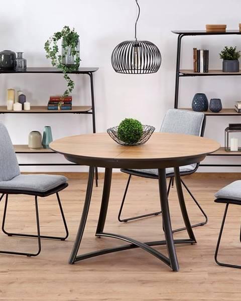 Hnedý stôl Halmar