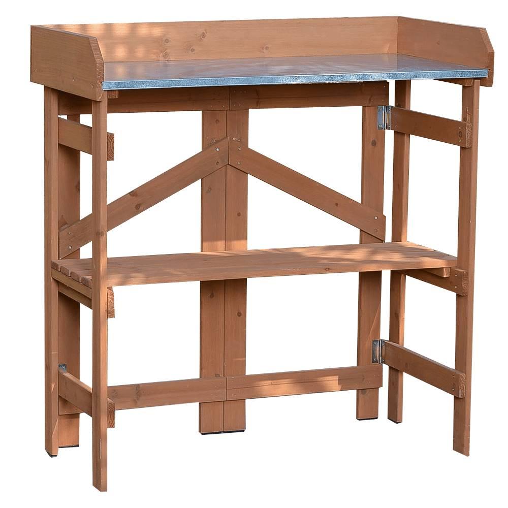 Tempo Kondela Záhradný príručný stolík jelša ELSIRO