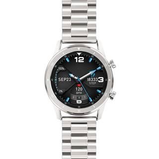 Inteligentné hodinky Aligator Watch Pro strieborné