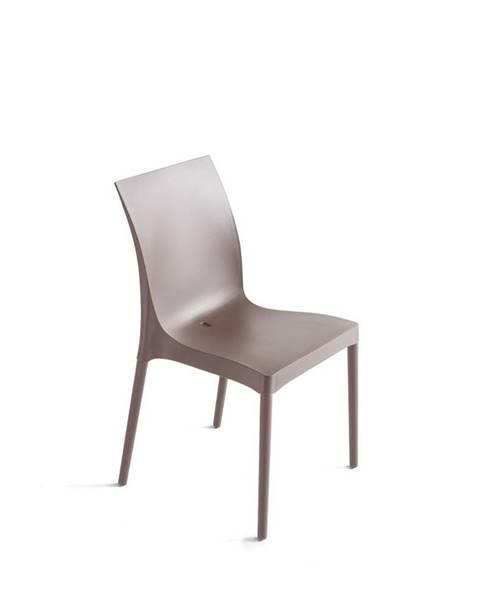 Oranžová stolička Möbelix