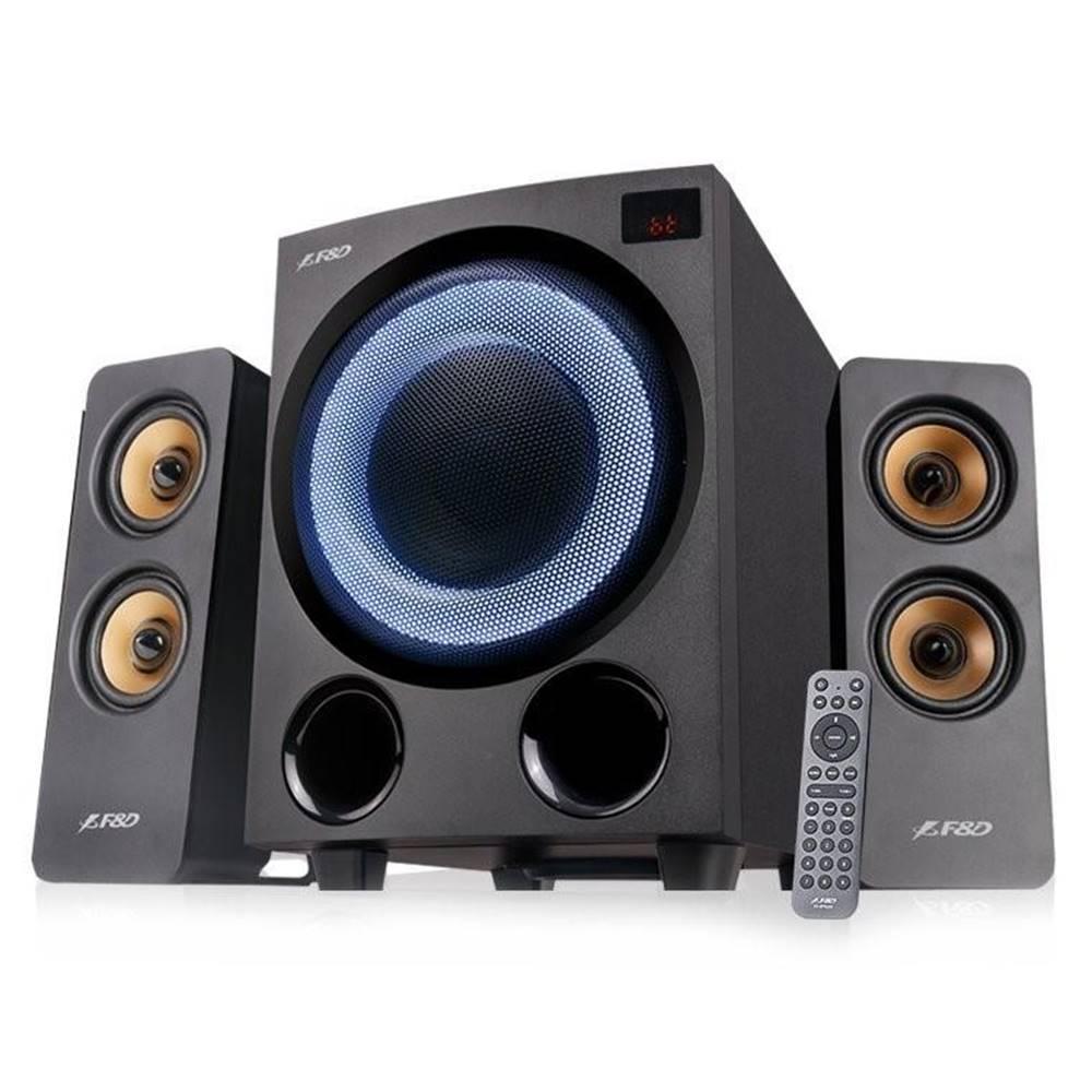Fenda F&D Reproduktory Fenda F&D F770X, 2.1, 76W, RGB, BT5.0, FM rádio, USB,