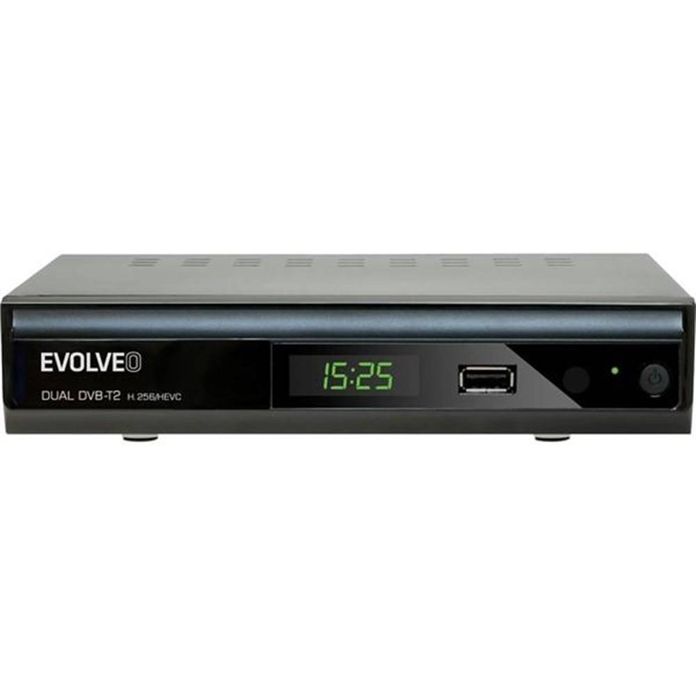Evolveo Set-top box Evolveo Gamma T2 čierny