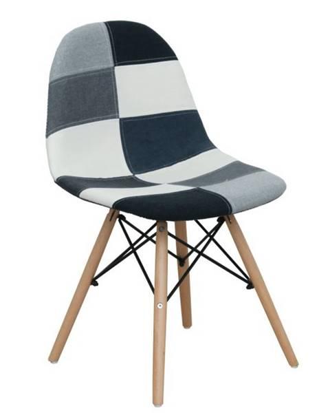 Vzorovaná stolička Tempo Kondela
