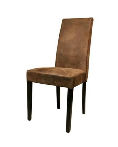 Jedálenská stolička CAPRICE buk kolonial/hnedá