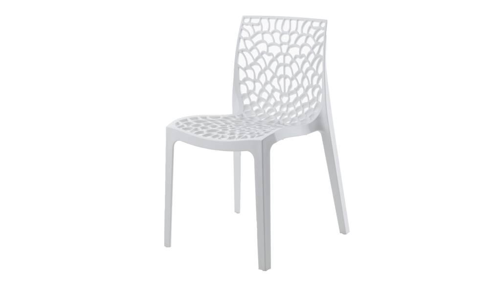 Sconto Jedálenská stolička GRUVYER biela