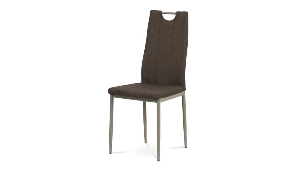 Sconto Jedálenská stolička AMINA hnedá/cappuccino
