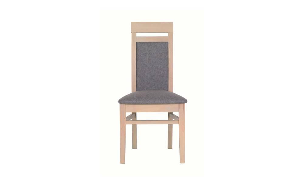 Sconto Jedálenská stolička ALEX AX13 tuja/sivá