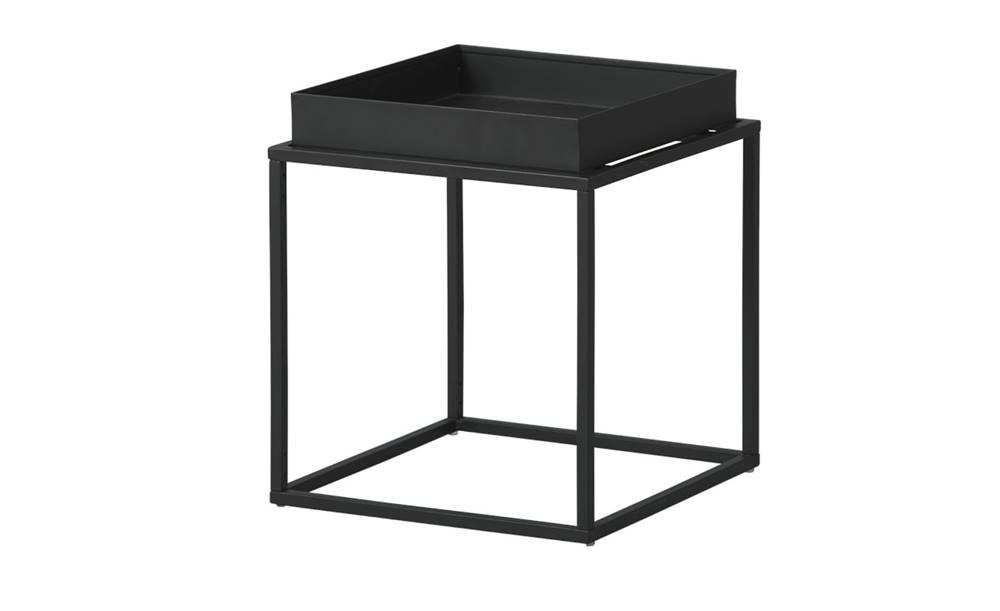 Sconto Prístavný stolík CLUB NY čierna